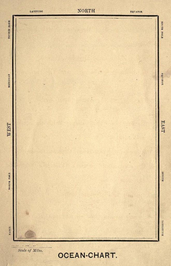 Carta náutica.