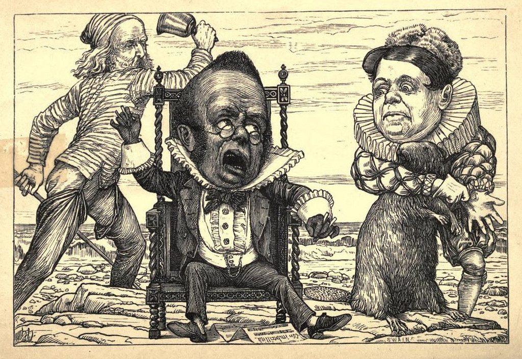 Ilustração do livro The Hunting of the Snark.