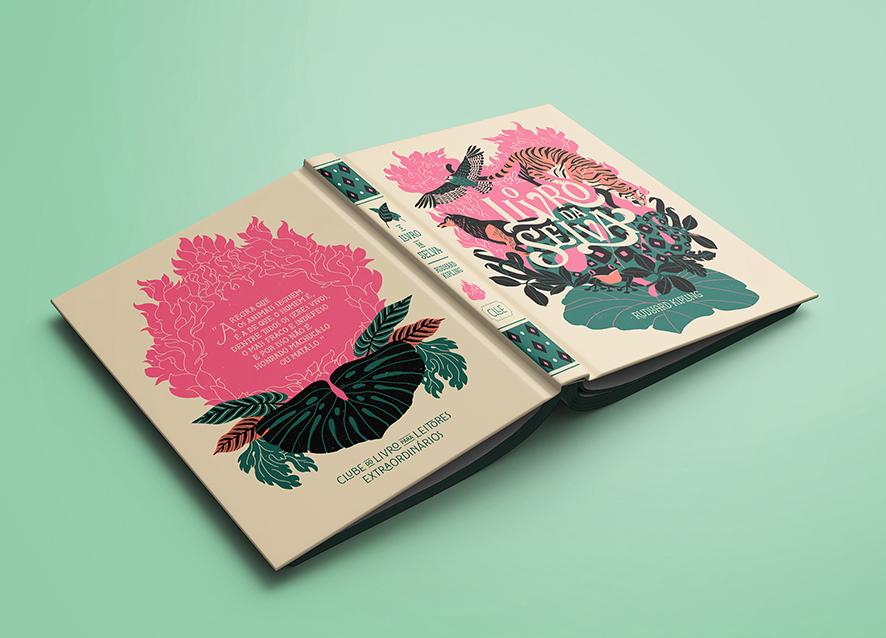 Capa da primeira edição de O livro da selva do Instituto Mojo para o programa Domínio ao Público