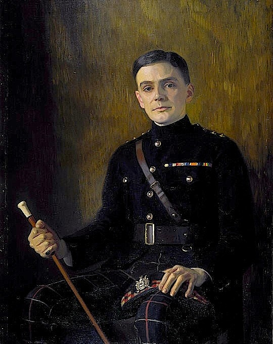 Retrato de Charles Kenneth Scott-Moncrieff por Edward Stanley Mercer (1889–1932). Sem data. Fonte