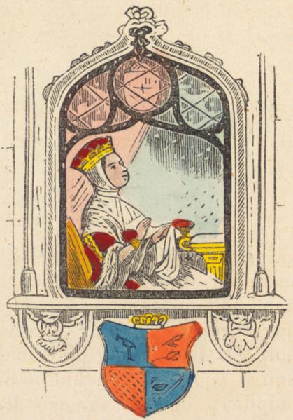 Ilustração de Mjallhvít (Branca de Neve), para uma edição islandesa de 1852 da tradução do conto dos Grimm.