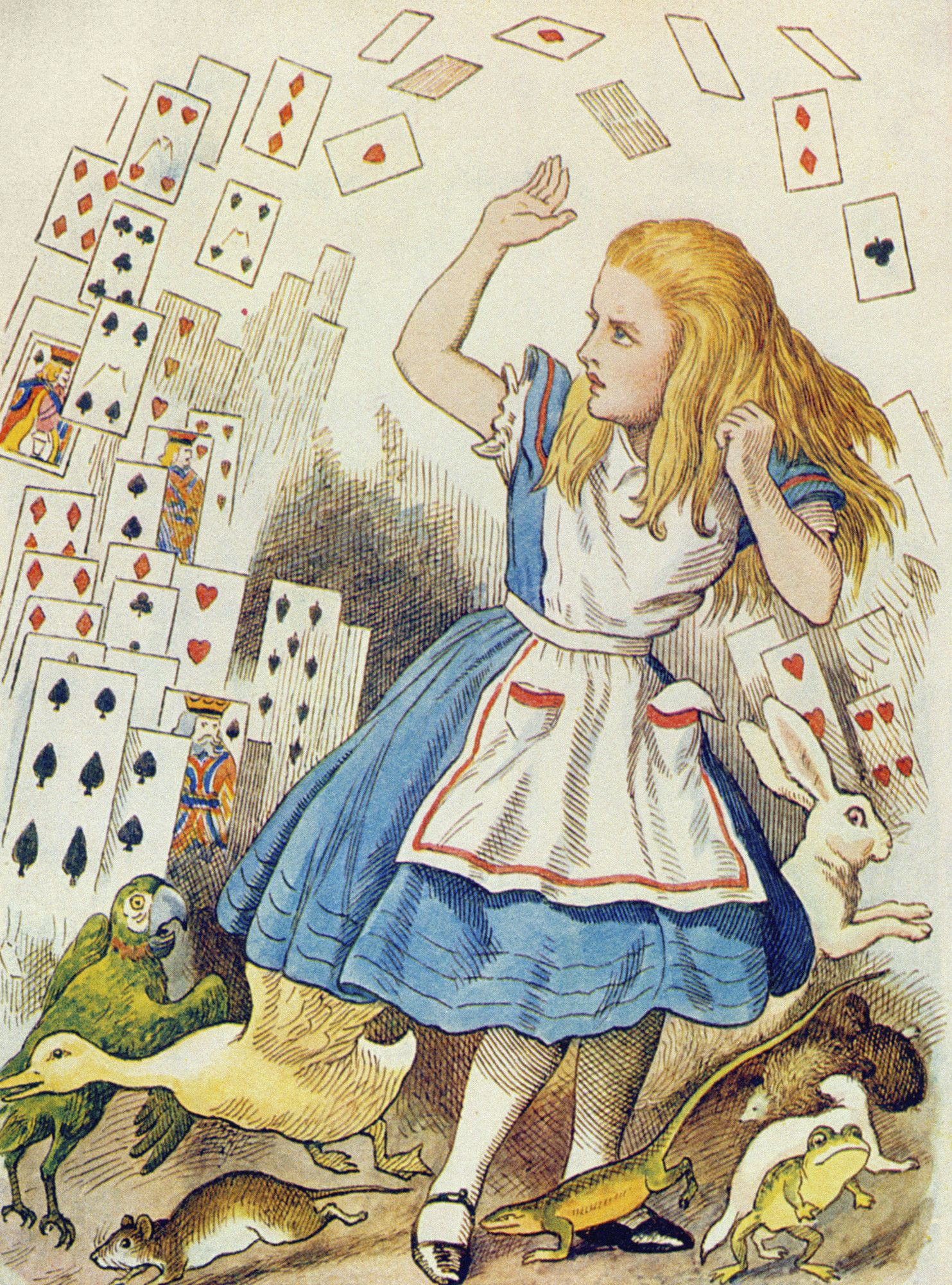 Ilustração de Sir John Tenniel.