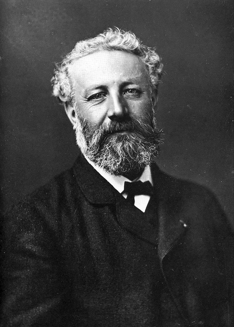 Retrato de Jules Verne, porFélix Nadar 1820-1910. Fonte