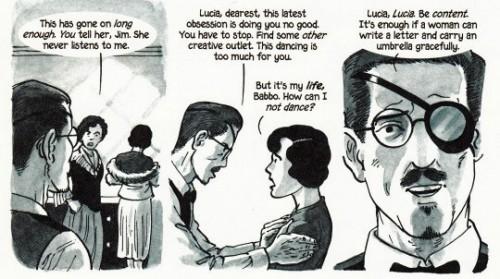 James Joyce destila certo machismo contra as aspirações artísticas de sua filha Lucia.