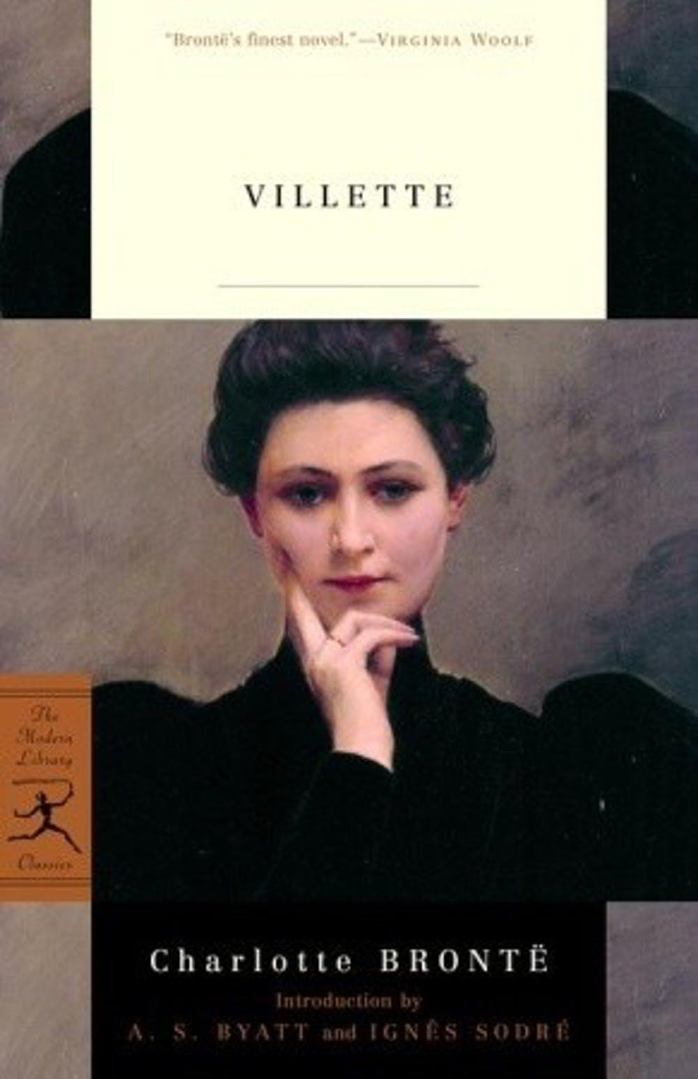 Capa do livro Villette, de Charlotte Brontë, 1853.
