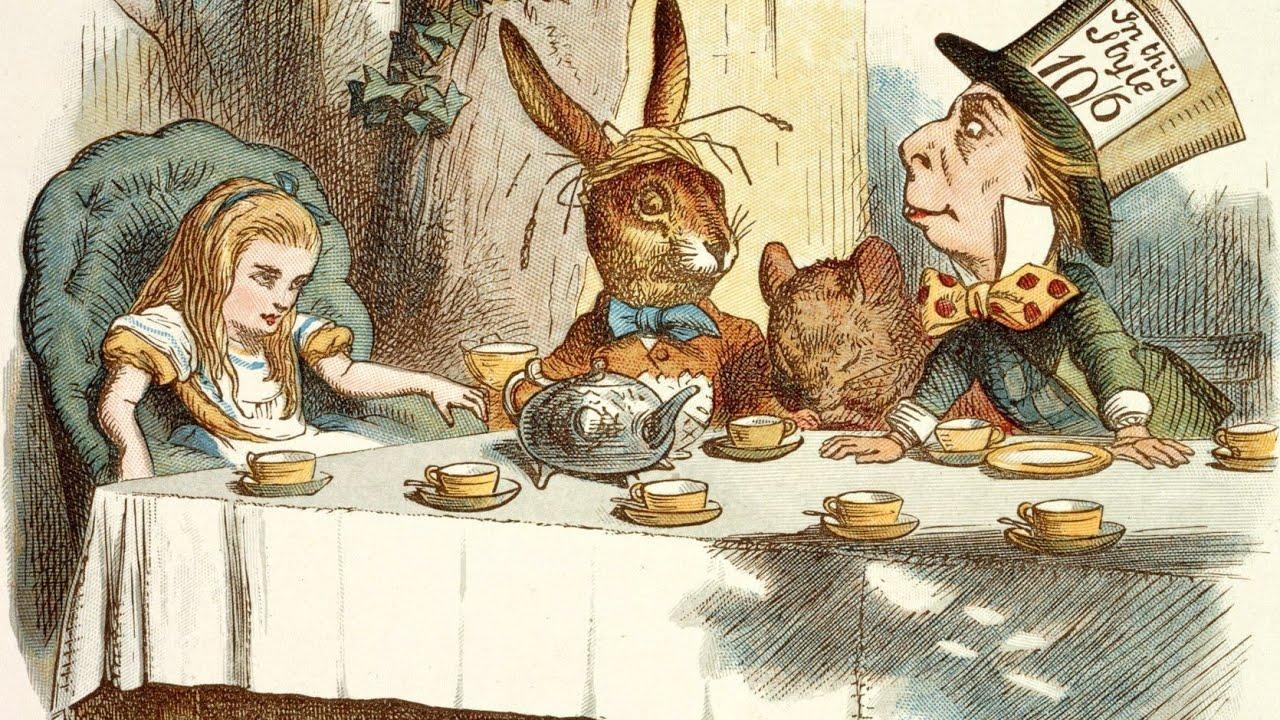 Alice ilustrada por Sir John Tenniel.