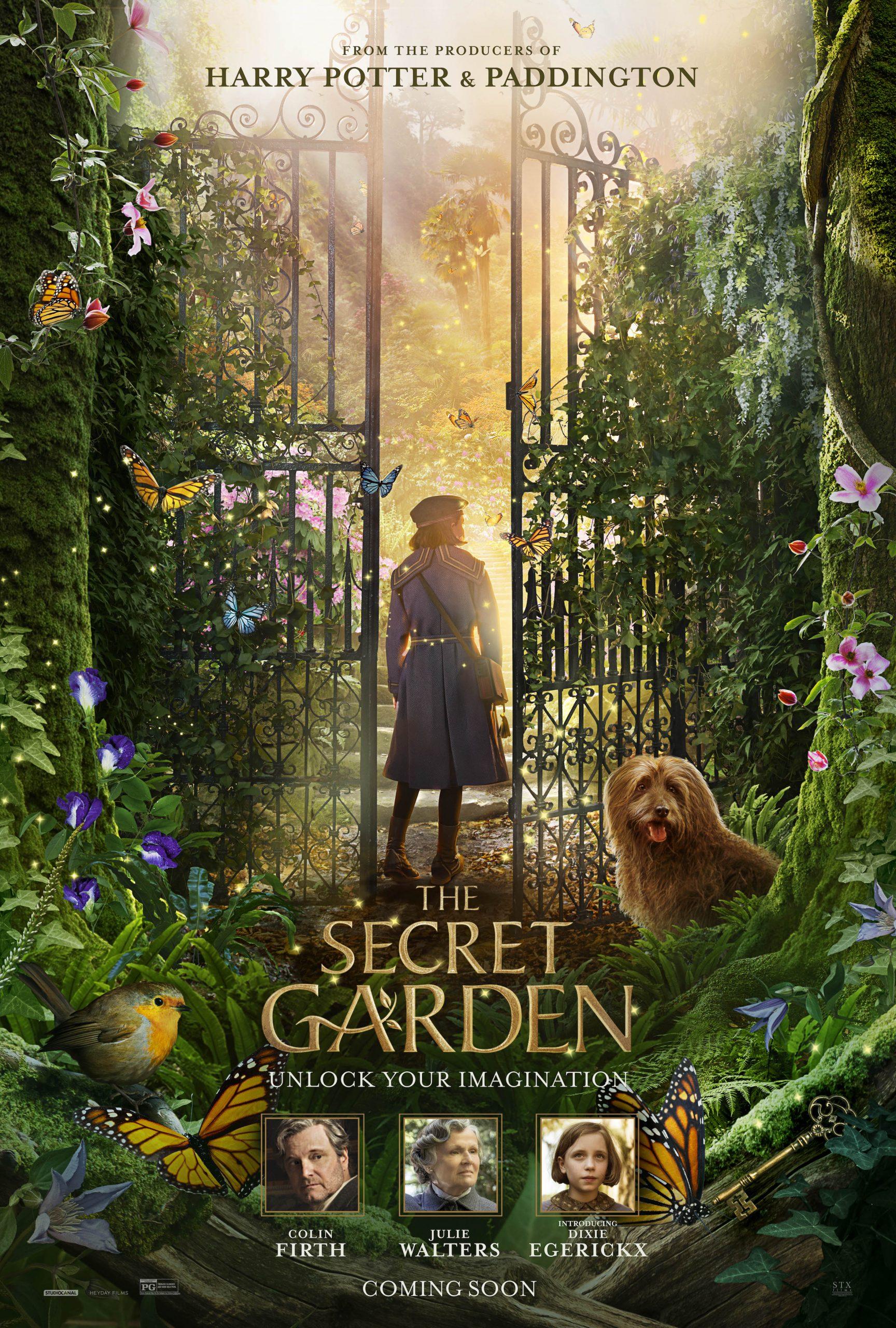Poster do filme O jardim secreto, de 2018.