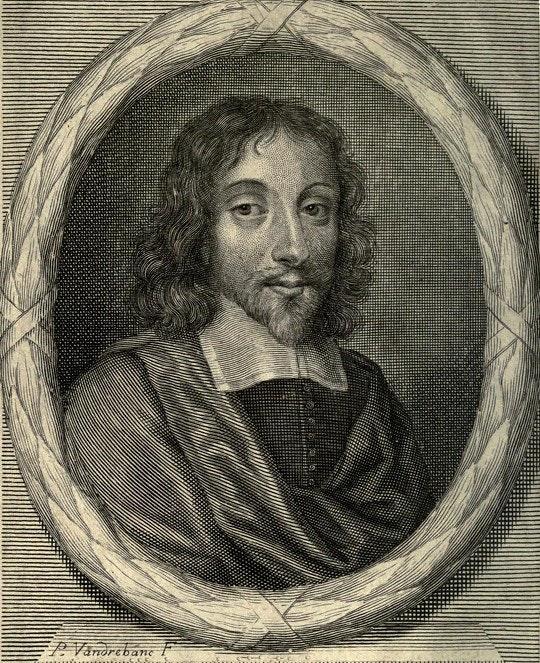 Thomas Browne como representado no frontispício de sua publicação póstuma Certain Miscellany Tracts (1684)